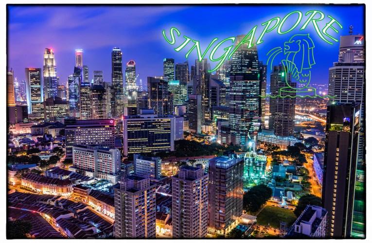 Singapore / Postmarked 27 Dec. 2013
