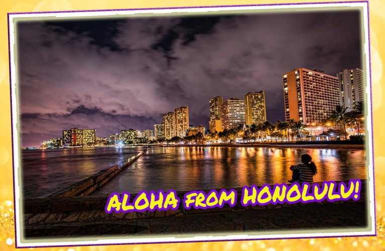 Honolulu / Postmarked 09 Jul. 2012