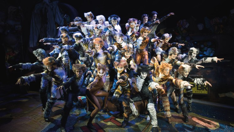 Cats 2016 Musical Theater Basel