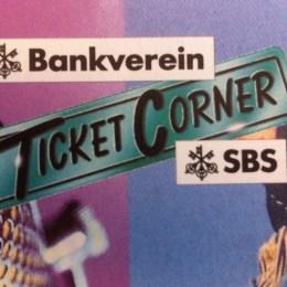 30 Jahre Ticketcorner: Altes Logo (ab 1987)
