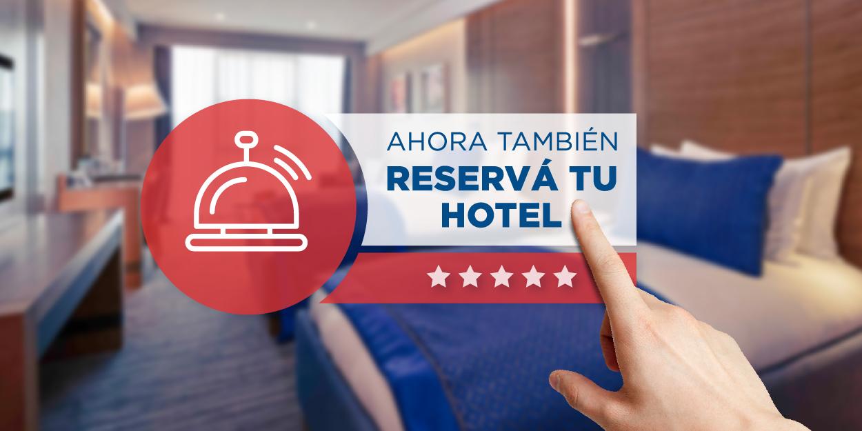Reserva de hoteles en Ticket Online