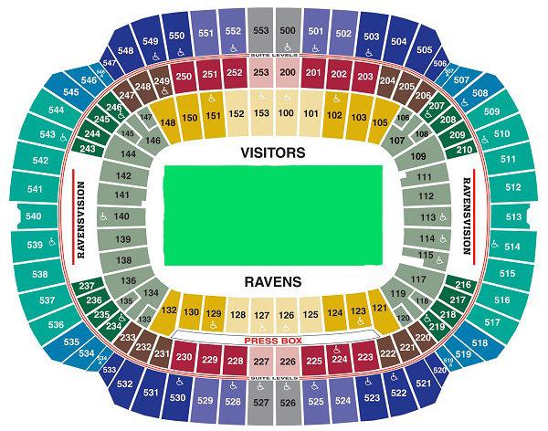 Dolphin Stadium Seating Map Www Microfinanceindia Org