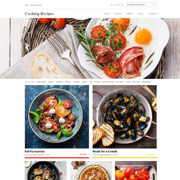 HTML template