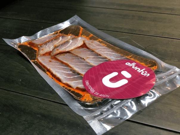 Ventresca de atún adobada de Altuntún