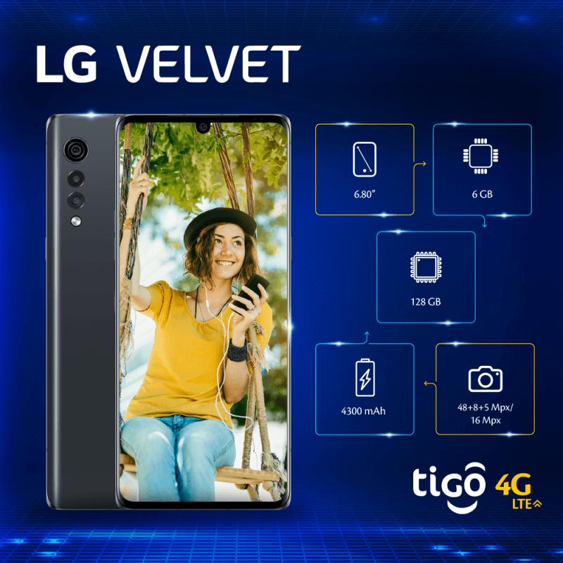 LG Velvet info