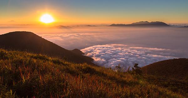 Gunung Lokasi Upacara Kemerdekaan Indonesia - Papandayan