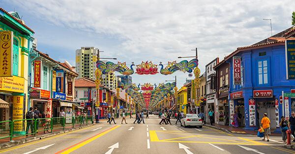 Itinerary Singapore - little india