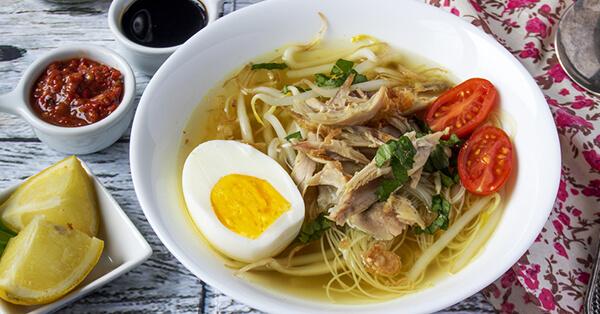 Kuliner Malam Jogja - Soto Sampah