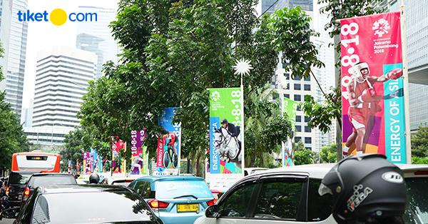 Penutupan Pintu Tol Selama Asian Games 2018 di Jakarta