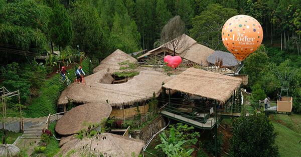 Tempat Wisata di Maribaya-lodge-maribaya
