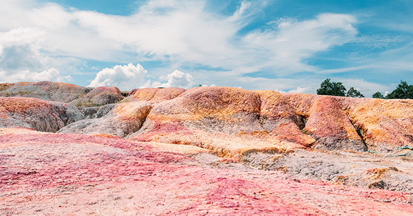 Tempat Wisata di Pekanbaru - Rainbow Hills Rumbai