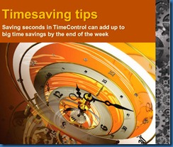 Being more effective with TimeControl