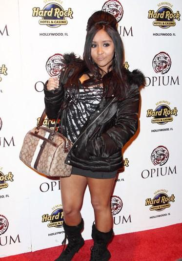Snooki and her Coach Purse