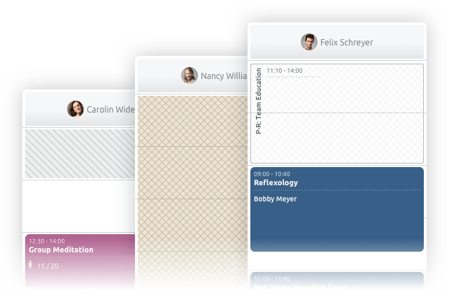 Priorisieren und Reservieren von Zeitfenstern TIMIFY