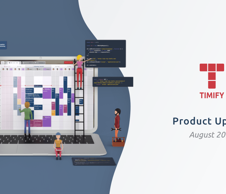TIMIFY Product Update August 2021