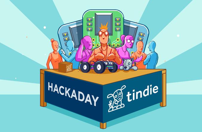 HackadayTindie-booth