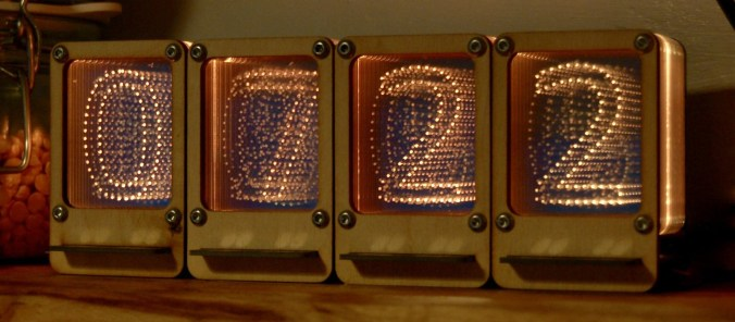 Though It Seems Like A Shame Nixie Tubes Which Use Series Of Cathodes Inside Low Pressure Gas Filled Tube To Display Numbers Are No Longer Produced
