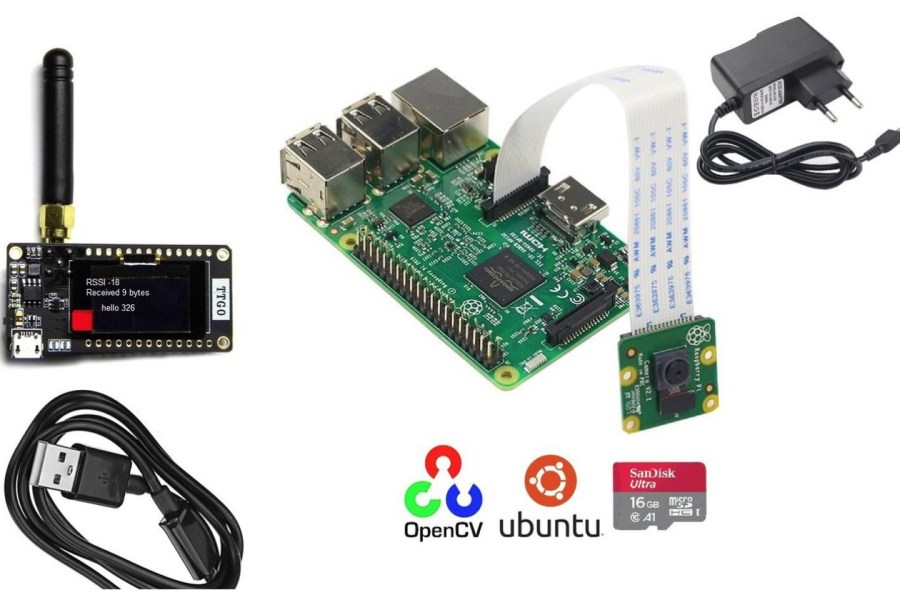 Raspberry Pi Meets LoRa and ESP32 in this IoT Learning Kit