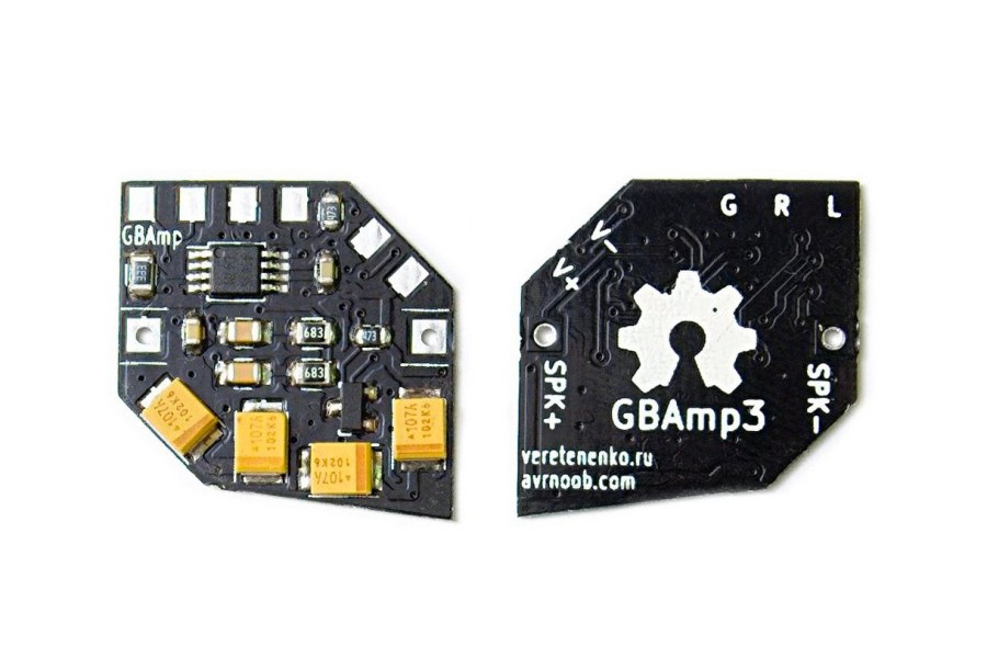 Boost Your Game Boy's Audio Capabilities With The GBAmp3 Sound Mod