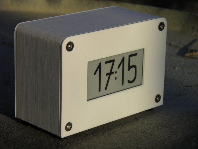 Blog Around Clock >> Tindie Blog Agora E Paper Clock