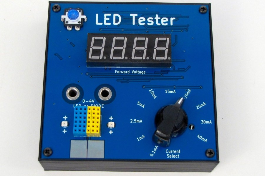 Keep Your LEDs and Diodes Up-to-Date With This LED Tester