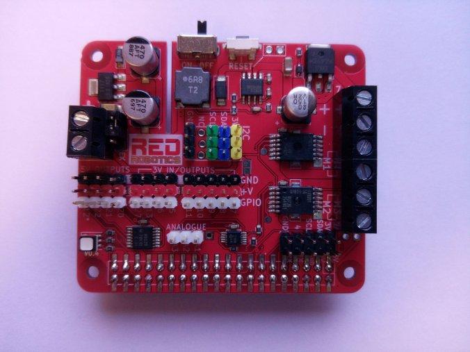 Blog do Tindie | Redboard +: Fazer um robô baseado em Pi nunca foi tão fácil! 1
