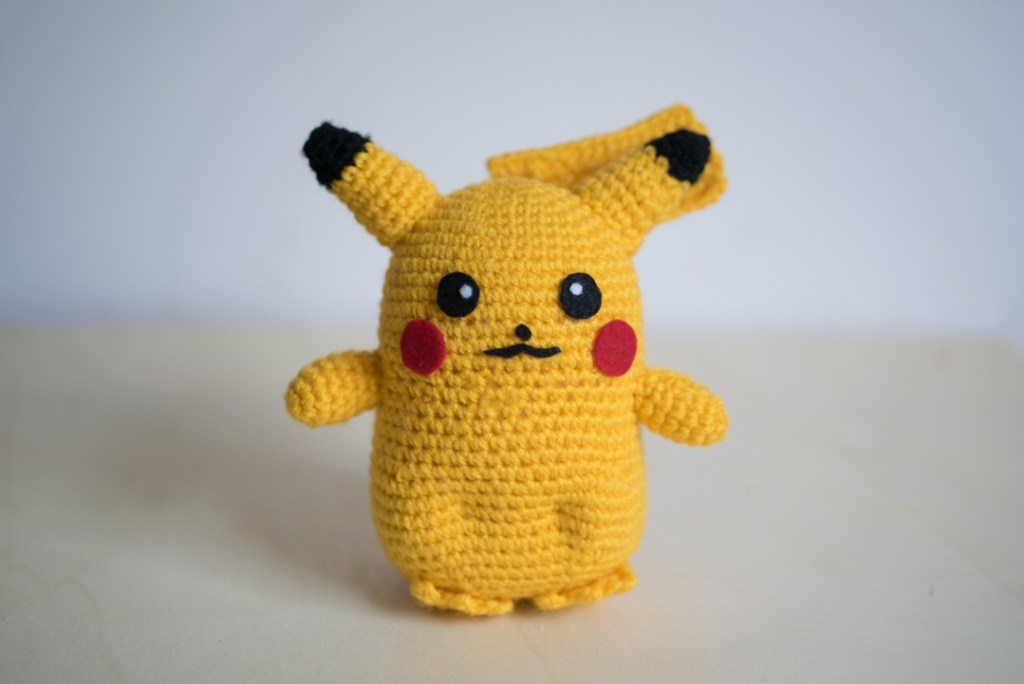 Tiny Rabbit Hole - Life Size Pikachu Pokemon Amigurumi Pattern