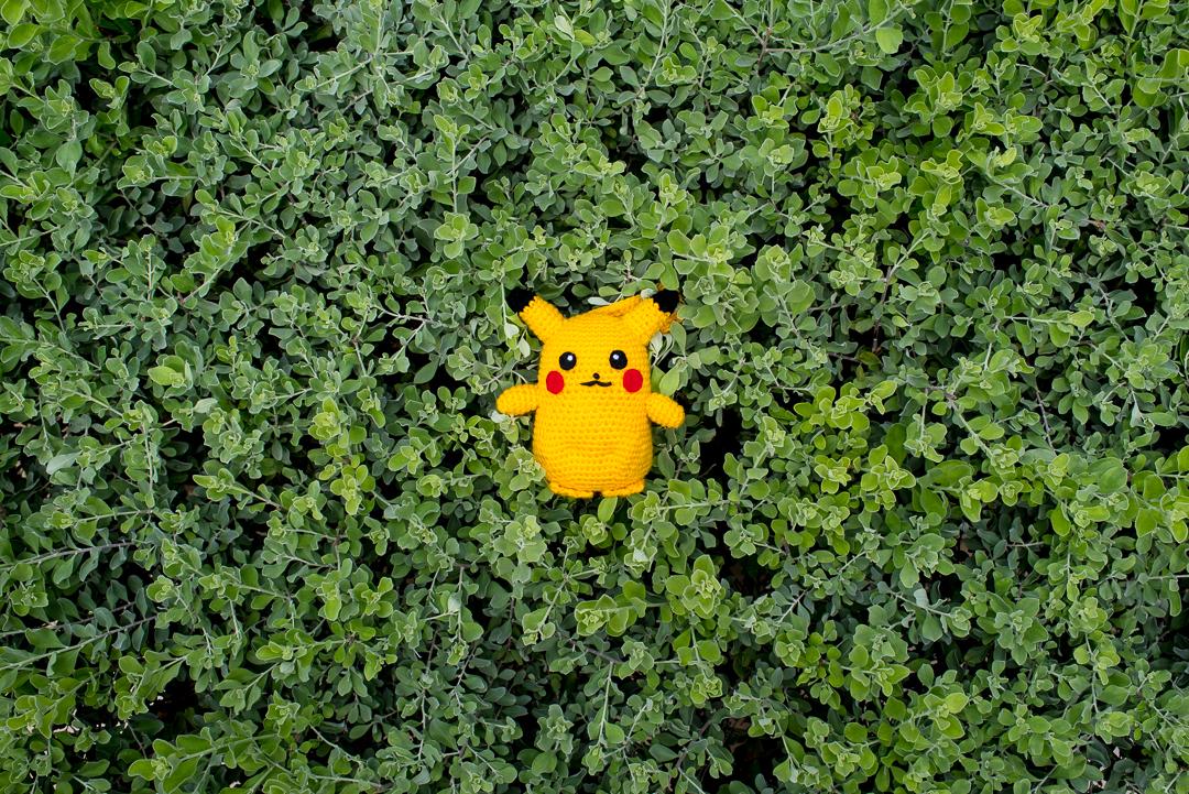 Life Size Pikachu Pokemon Amigurumi Pattern
