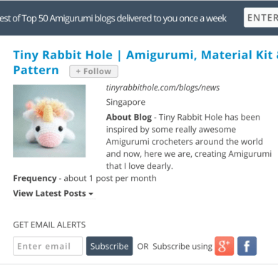 Tiny Rabbit Hole - Officially top 25 in the world! - amigurumi artist - amigurumi designer - crocheted toys