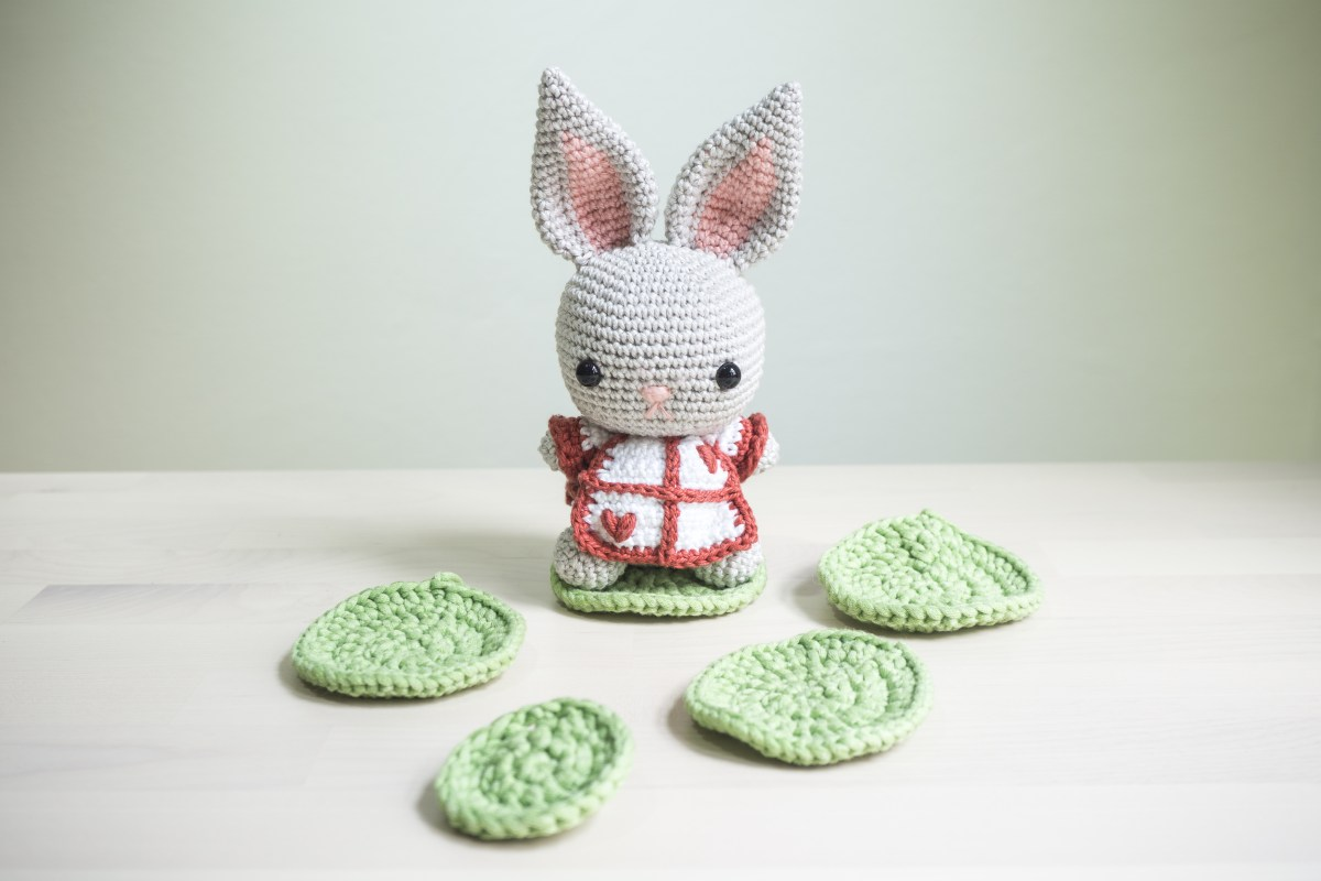Celebrate Easter with our FREE Cabbage Crochet Pattern