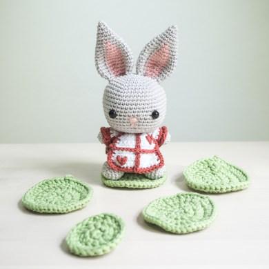 Tiny Rabbit Hole – Bunny Cabbage Easter Amigurumi Crochet