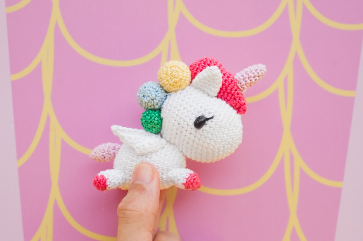 Tokidoki Unicorno Featuring Stellina – Free Amigurumi Pattern!