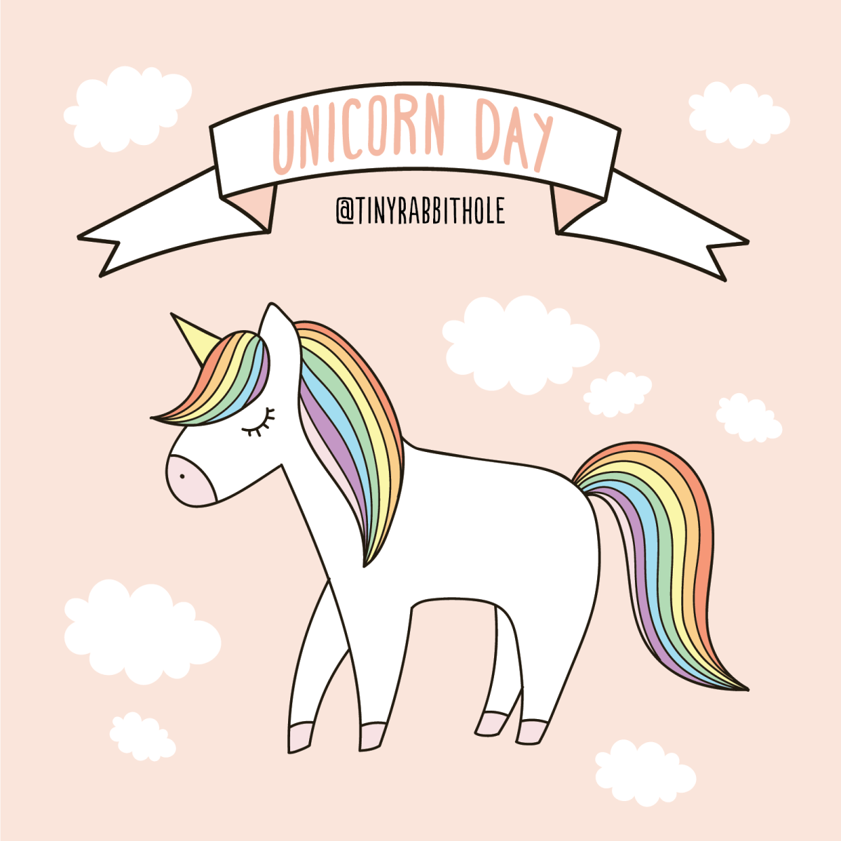 Celebrate International Unicorn Day with Tiny Rabbit Hole!