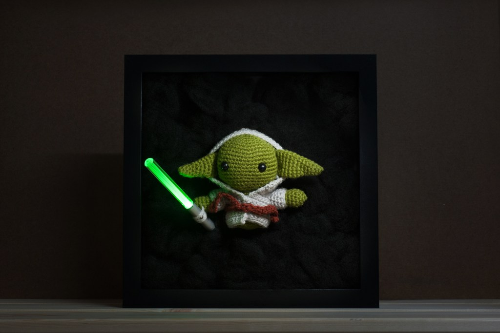 Tiny Rabbit Hole – May the fourth be with you! Yoda from Star Wars Free Amigurumi Crochet Pattern