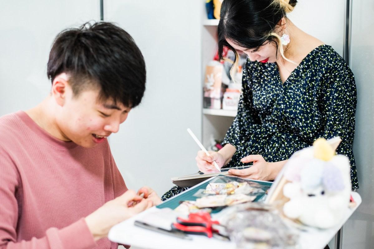 tiny rabbit hole mochibuddies craft art designer artist momo floflo panpan spottie katkat illustration makers market