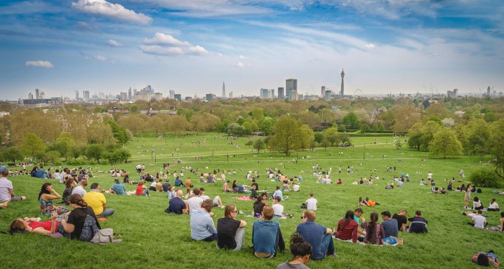 London best views primrose hill
