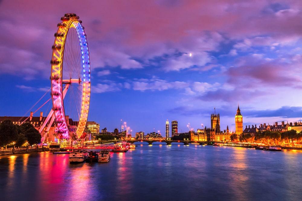 London best views london eye