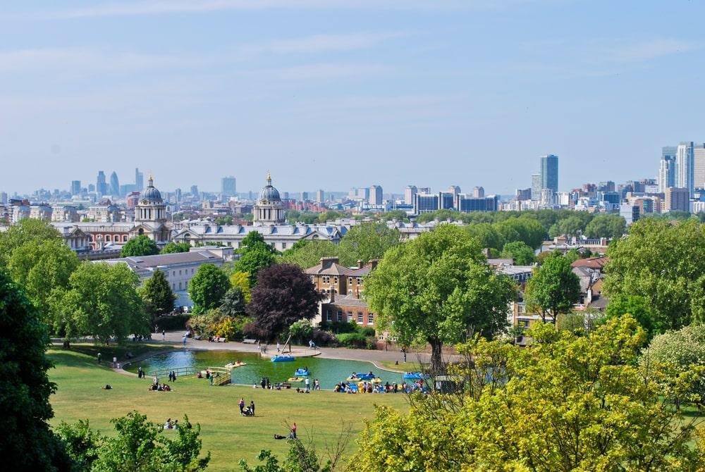 London best views greenwich royal park