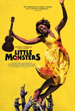 Theatrical film poster for the film, Little Monsters
