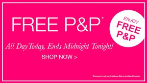 Free P&P all day today