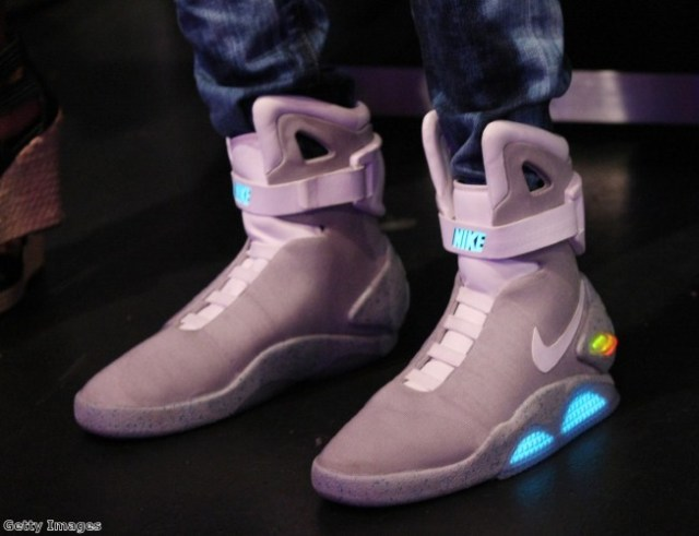 We can't wait for self-lacing, light up shoes!