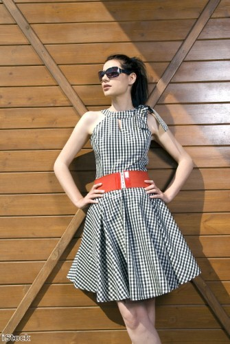 Gingham can be chic too, making it perfect for summer