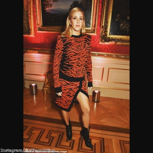 Ellie proves that tiger print is a fierce trend for autumn