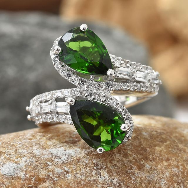 Russian Diopside Ring on TJC