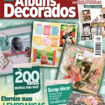 "TK Scrapbook na ""Scrapbooking Álbuns Decorados – Ed. 21 Mar/2015"