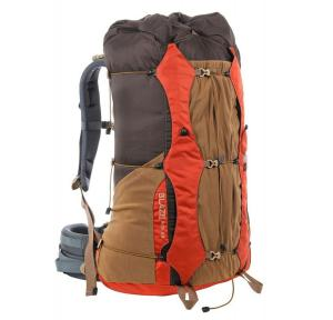 The pack body is a simple, lidless top loader with a tall spindrift opening that can be cinched and rolled down tight for weather resistance and also expanded when extra space is needed.