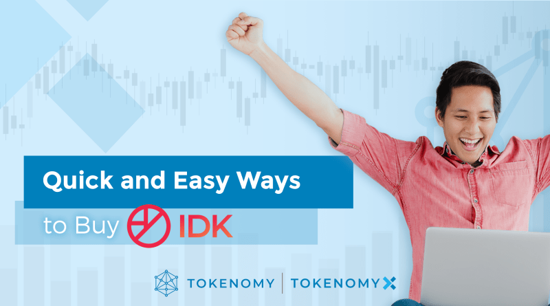 Quick and easy ways to buy IDK!