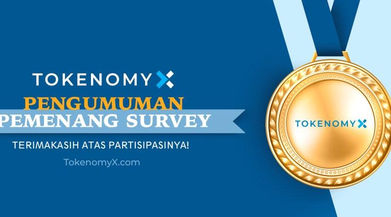 TokenomyX Survey Has Closed! See the Winner List!