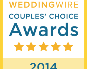 Wedding Wire Couple's Choice Award 2014