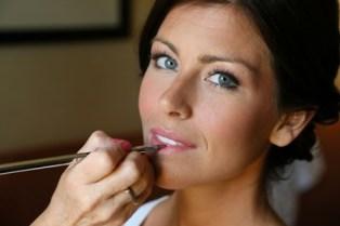 On location wedding makeup artist Boston